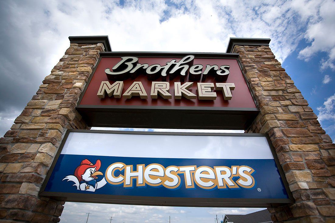 Brothers Market was a complete design build project. AB was involved in every single phase of construction on the project. We provided general contractor services, architecture, interior/graphic design and décor, logo and exterior signage design and all the fixtures and refrigeration equipment. It was the most complete project we have ever done.