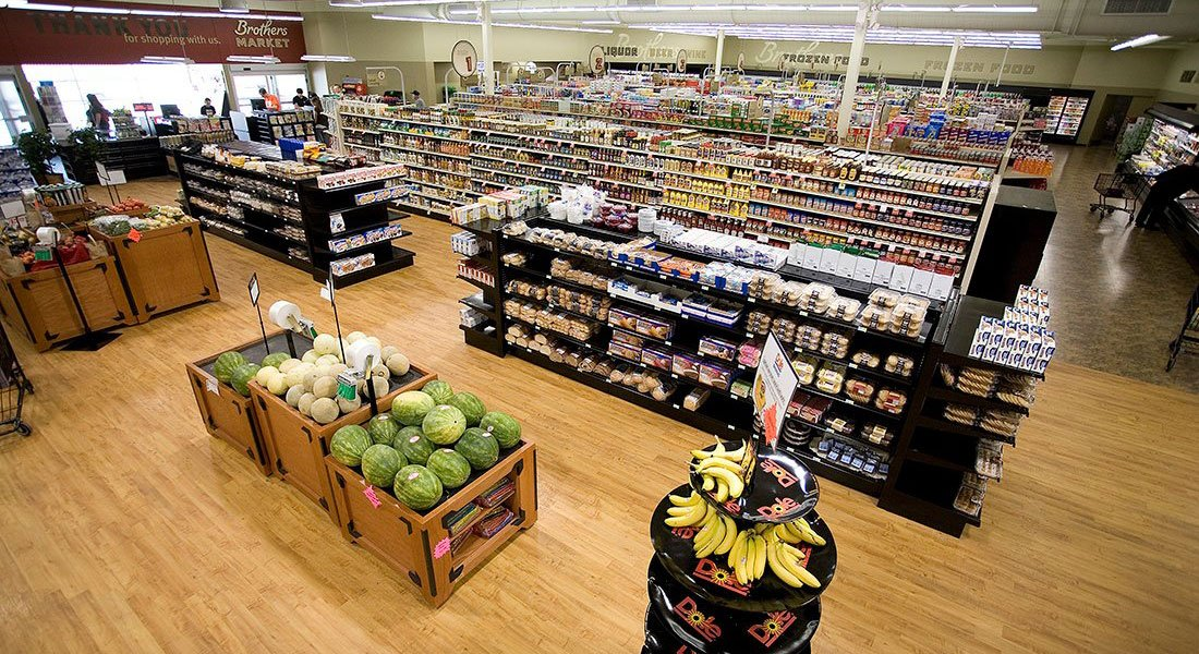 Brothers Market - Grocery Interior